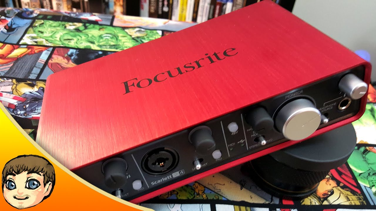 flexible quality interface focusrite scarlett 2i4 usb audio interface review youtube. Black Bedroom Furniture Sets. Home Design Ideas