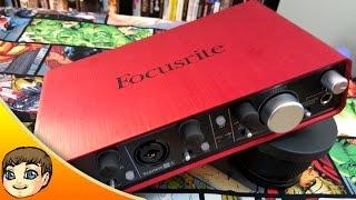 FLEXIBLE & QUALITY INTERFACE | FocusRite Scarlett 2i4 USB Audio Interface Review