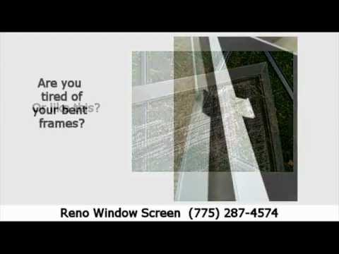 Reno Window Screen Professional Rescreen Service, Incline village,ca 89540, 89451