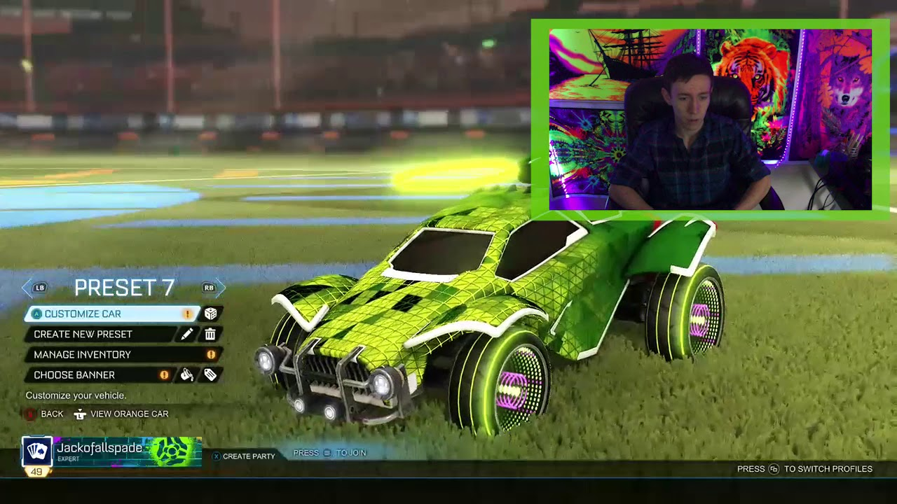 Another Painted Infinium Octane And 3 Colors Of Toon Sketch