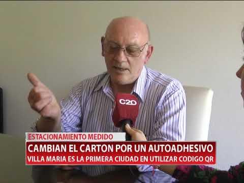 ESTACIONAMIENTO MEDIDO CAMBIAN EL CARTON POR UN AUTOADHESIVO