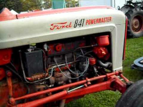 841 Ford Powermaster Tractor