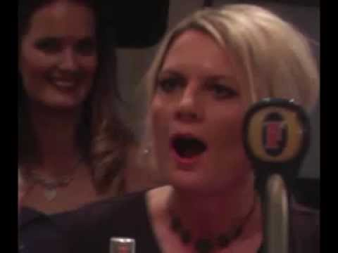 Tonia Bailey's reaction to seeing her painting at her birthday party in Crown and Anchor