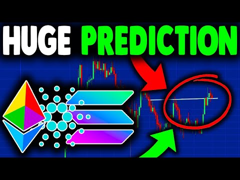 HUGE ETHEREUM, CARDANO & SOLANA PREDICTION!!! ETHEREUM PRICE PREDICTION, CARDANO NEWS & SOLANA NEWS!