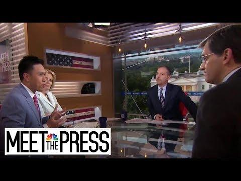 Full Panel: President Trump 'Likes To Create A Crisis' | Meet The Press | NBC News