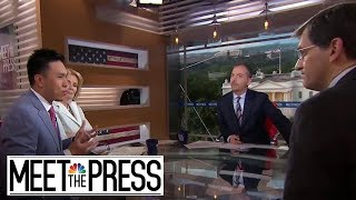 Full Panel: President Trump 'Likes To Create A Crisis' | Meet The Press | NBC News