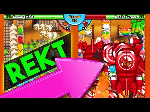 Bloons TD Battles  ::  LATE GAME ARENA ::  HE LEARNED HIS LESSON :: BTD BATTLES