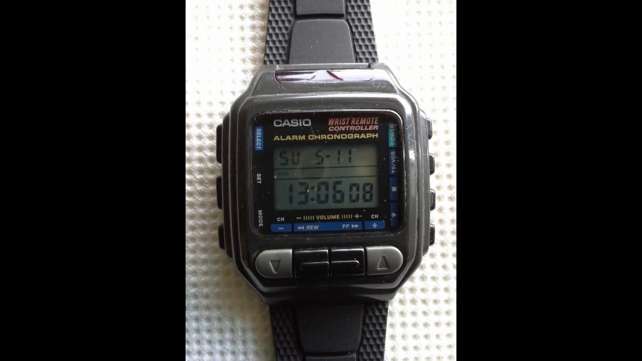 Vintage Casio Watch CMD 30 with Remote Control