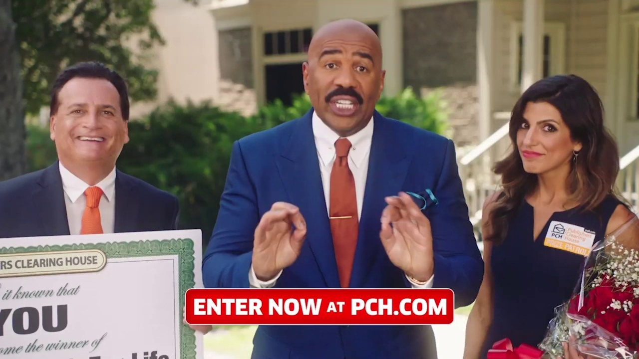 Prize Patrol & Steve Harvey $5,000 a Week for Life