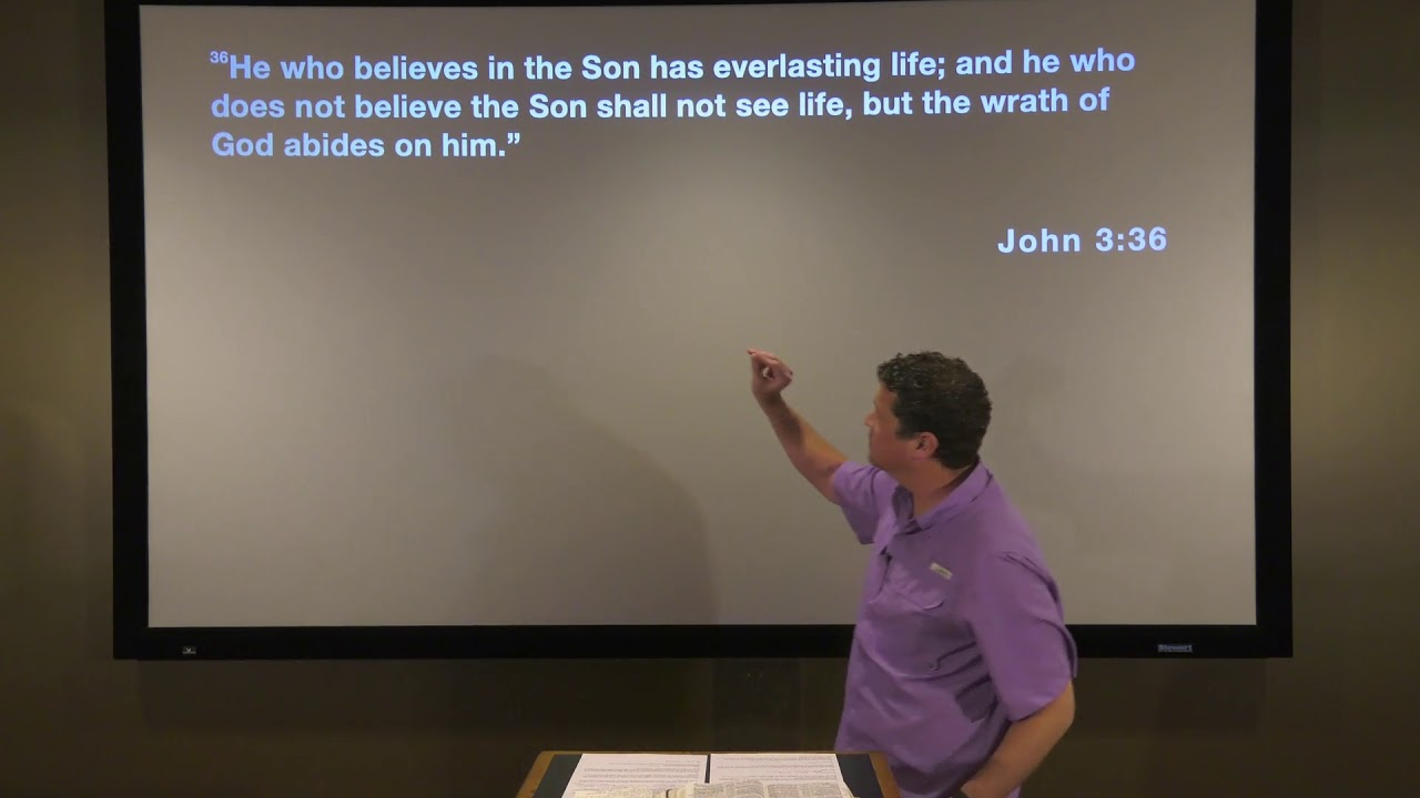 Studies in John - #132: That You May Believe