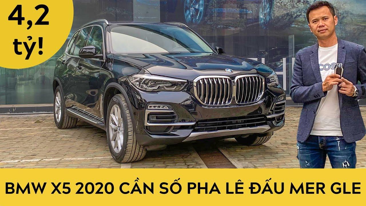 BMW X5 2020 40i – Cần số pha lê đấu Mercedes GLE, Lexus RX | Trải nghiệm xe