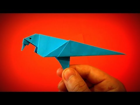 How to Make a Paper Dove (Paper Bird) DIY - Easy Origami Step by Step