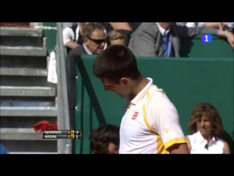 Novak Djokovic VS Rafa Nadal Master 1000 MonteCarlo final. TIE BREAK