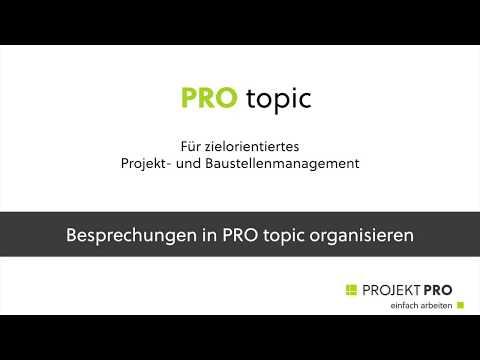 PRO topic -