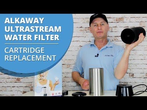 How to change the cartridge in your Alkaway Ultrastream Water Filter