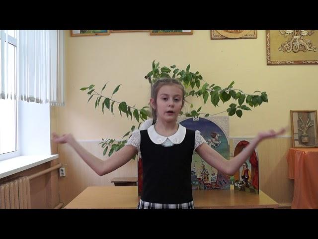 Изображение предпросмотра прочтения – КаринаСахибгареева читает произведение «Зимой» М.И.Цветаевой