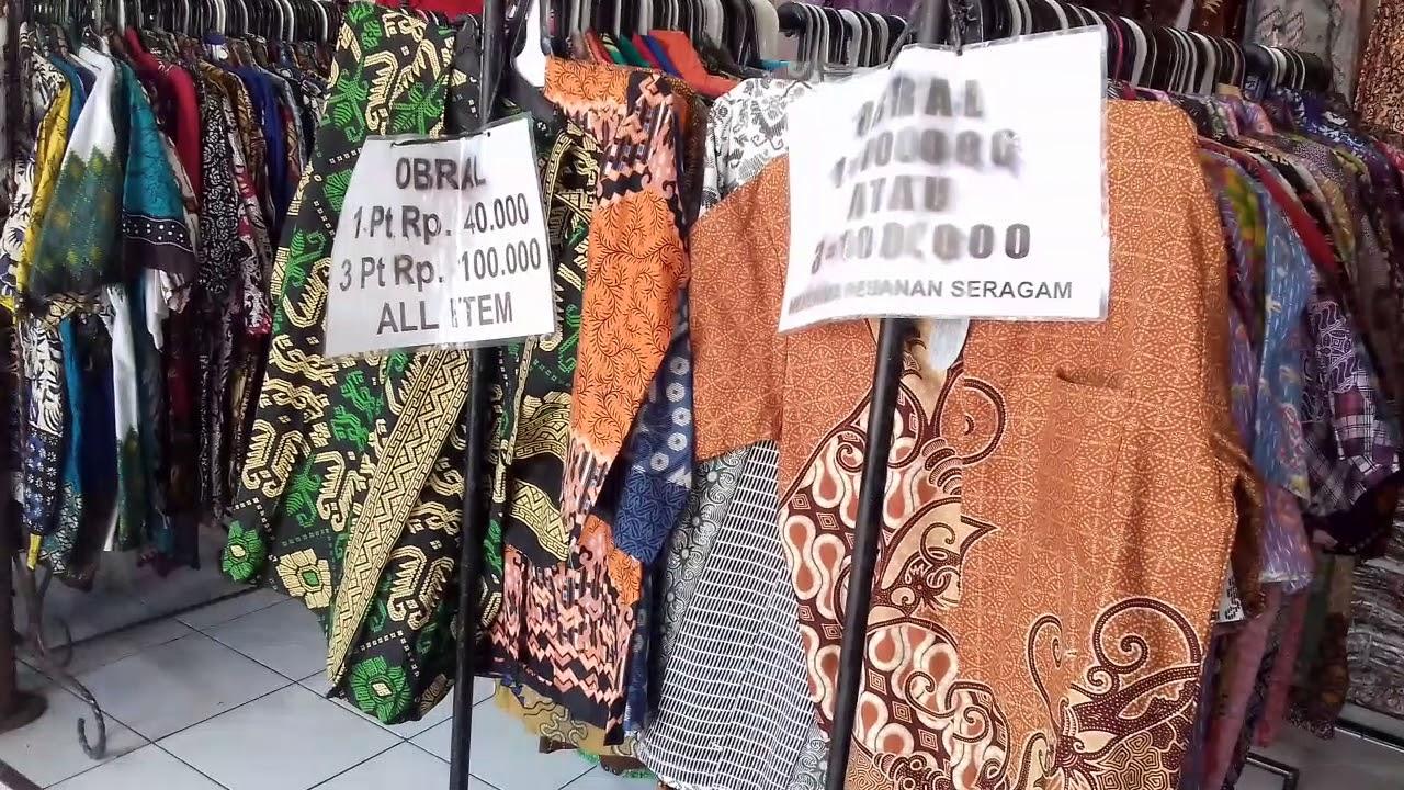 Pasar Batik Setono Pekalongan - YouTube a909ad26f5