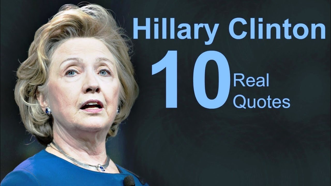 Hillary Clinton Quote Hillary Clinton 10 Real Life Quotes On Success  Inspiring