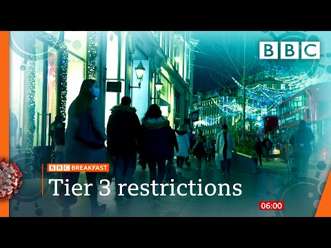Covid: Millions More Face Tier 3 As New Strain Identified 🔴 @BBC News Live - BBC