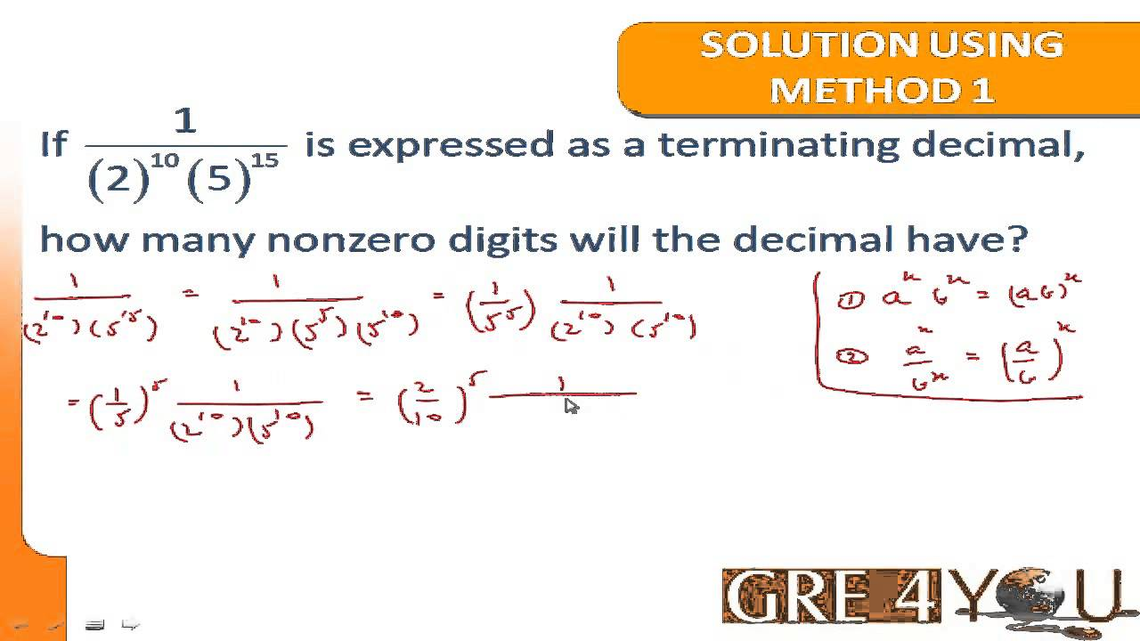 GRE4YOU.COM: TIPS ON GRE QUANTITATIVE REASONING (ARITHMETIC) - YouTube
