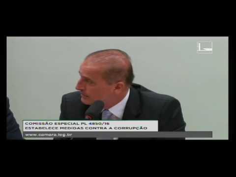 PL 4850/16 - ESTABELECE MEDIDAS CONTRA A CORRUPÇÃO - Reunião Deliberativa - 06/09/2016 - 09:29
