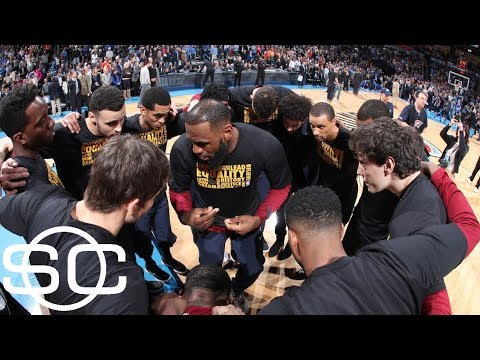 Meet LeBron James' new friends | SportsCenter | ESPN