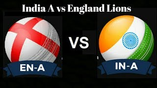 India A vs England Lions Oneday Match-Cricket Score Sports