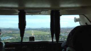 Approach into Malacca Airport
