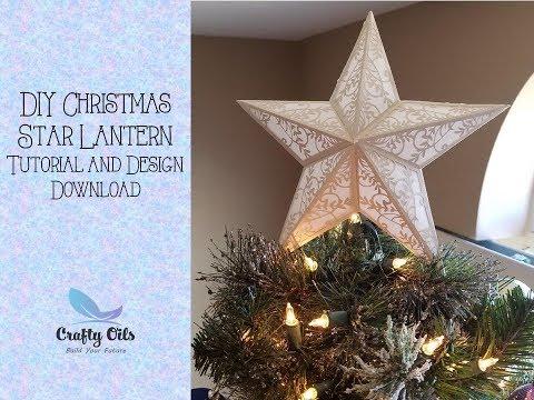 DIY 3D 5 Point Star - Christmas Star Lantern