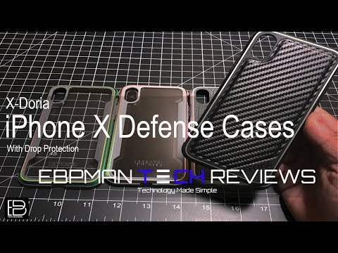 Apple iPhone X Defense Cases from X-Doria Giveaway Included