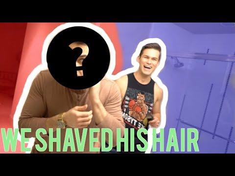 WE SHAVED OFF HIS HAIR! ft DavidAlvareeezy & JoshSantos