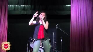 """Yoake Umarekuru Shoujo"" por Carolina Damasio en el Concurso de Idols de la CAF Infinity"