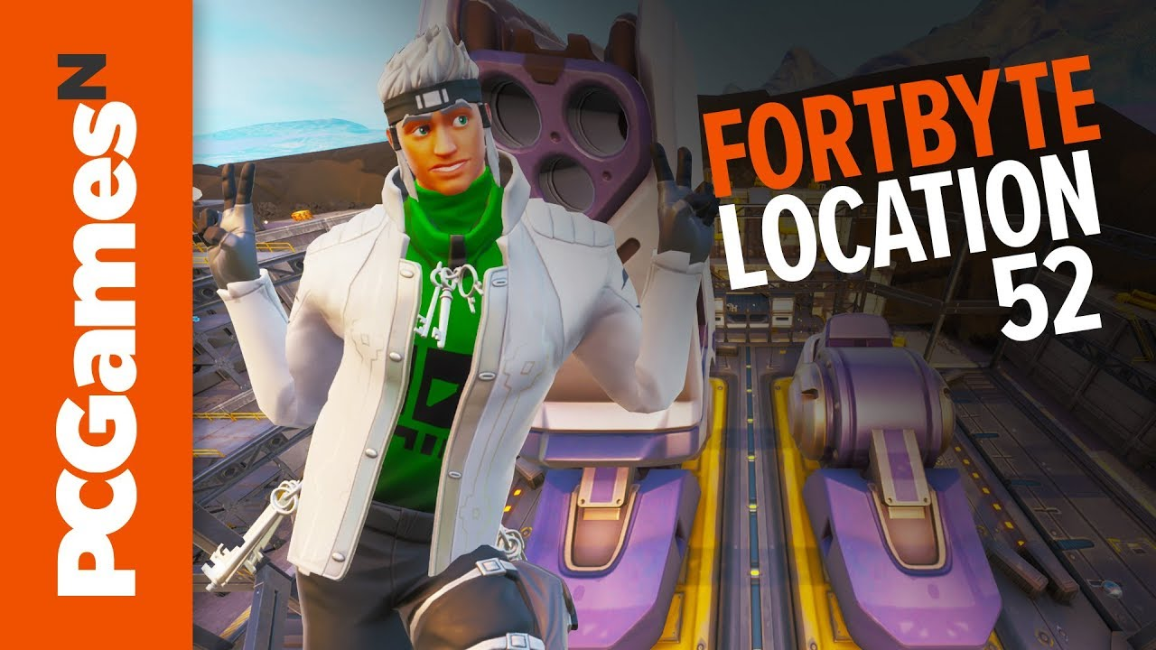 Fortnite Fortbyte 52 Robot Factory With Bot Spray Location Pcgamesn