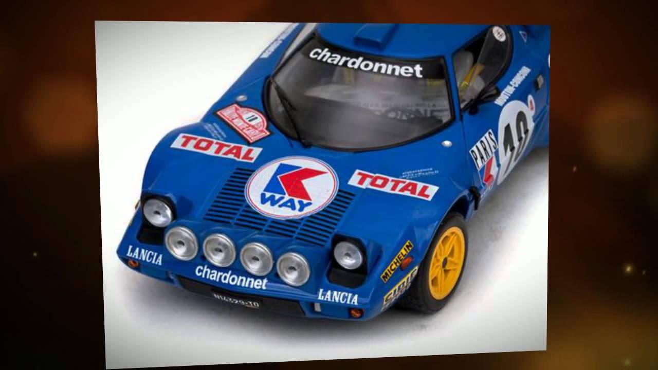 Lancia Stratos HF Rally  #1 1980 Monte Carlo Limitiert Sun Star  1:18  OVP NEU