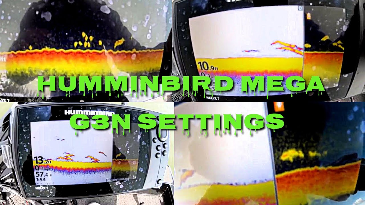 Humminbird Helix 7 Mega DI GPS G3N (SETTINGS & SCREENSHOTS)