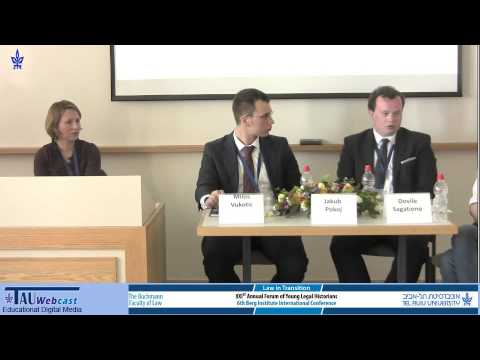 Panel - Socialist Law in Eastern Europe