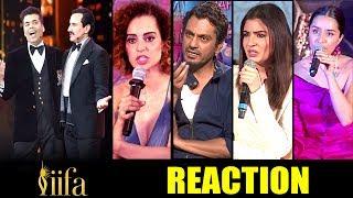 Bollywood Celebs Reaction On Kangana's Nepotism INSULT At IIFA Awards 2017 By Varun,Karan & Saif