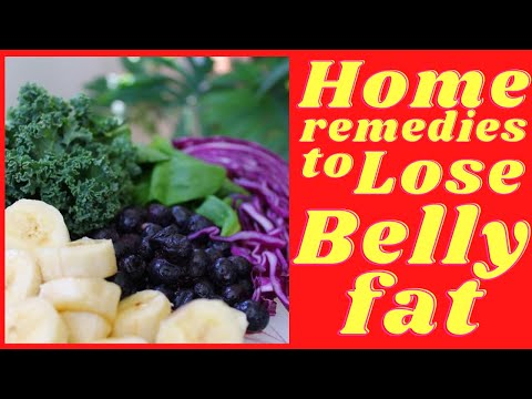 9 HOME Remedies to LOSE BELLY FAT without exercise / Weight Loss