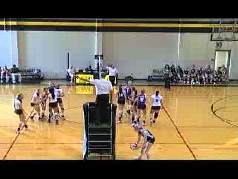 St. Teresa's Academy vs. Notre Dame de Sion high school volleybabll 9.7.11 part 1