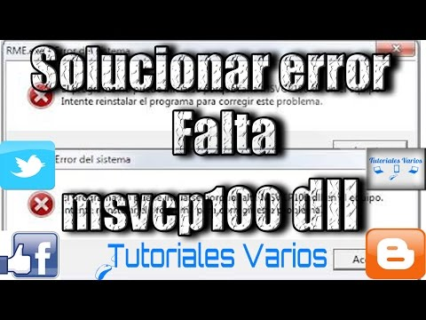 how to fix smite error msvcp110 dll
