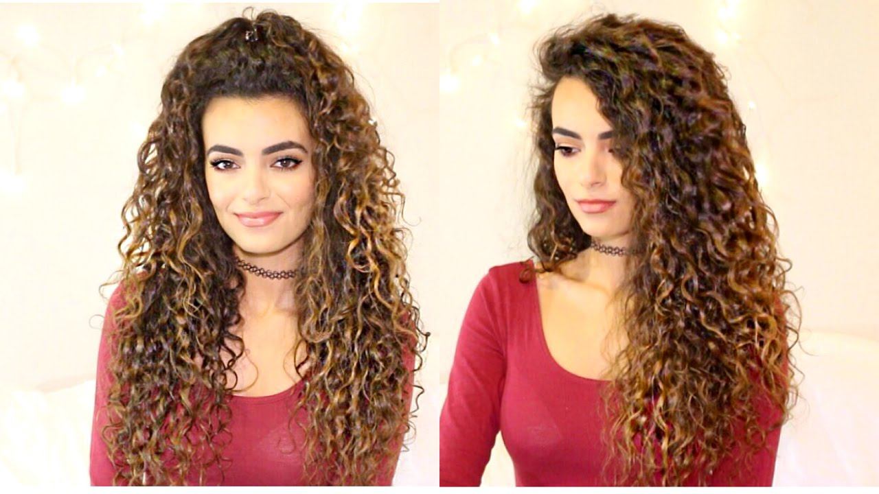 Long Curly Hair Routine Itsrimi