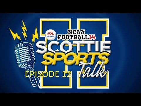 NCAA '14 Football | Team Builder Dynasty | Scotties Sports Talk | EP 12 | Week 12 Review