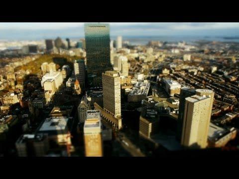 Beautiful Boston | Little Big World | Time lapse & tilt shift