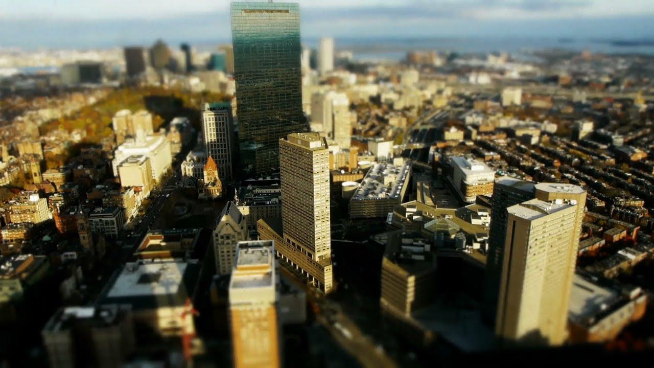Beautiful Boston TimeLapse TiltShift YouTube