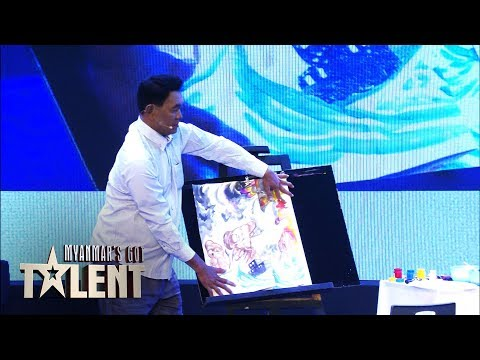 Naing Thit Oo: Semi-Final 5 | Myanmar's Got Talent 2018