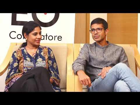 Dr. Vikram Ramakrishnan, Dr. Sitara Vikram - CS Academy | Entrepreneurs UnBoxed