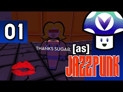 [Vinesauce] Vinny - Jazzpunk (part 1)