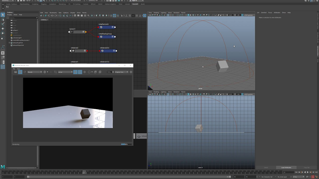 Exporting / Working with animated geometry as a Redshift Proxy in Maya