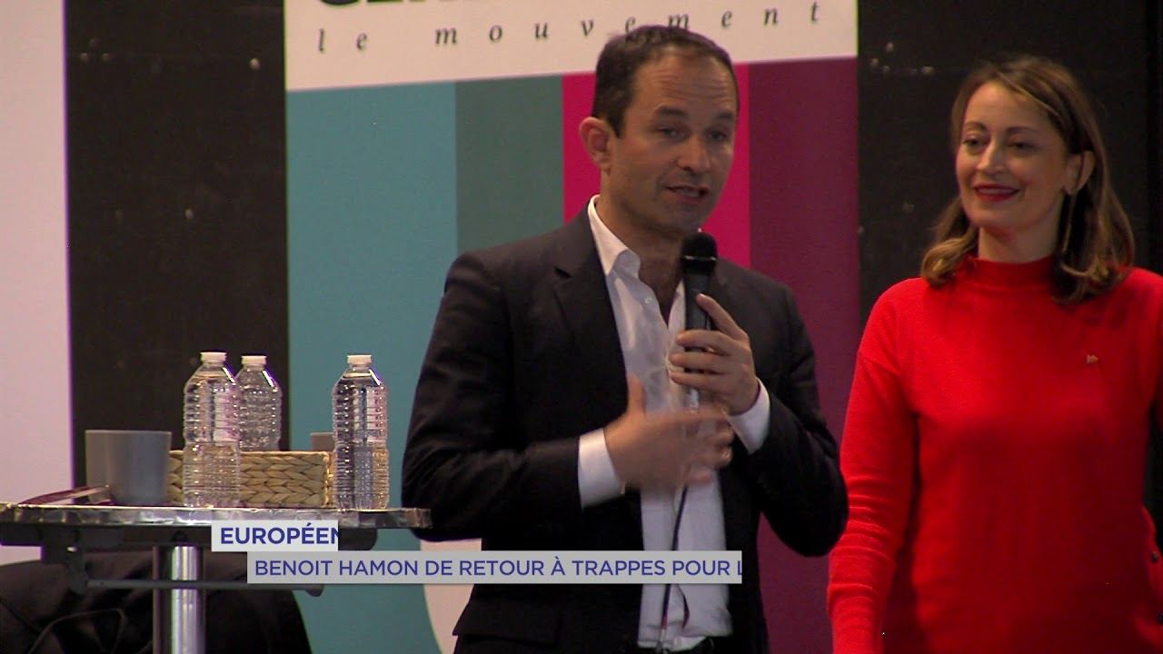 Yvelines | Européennes : Benoit Hamon de retour à Trappes pour la campagne électorale