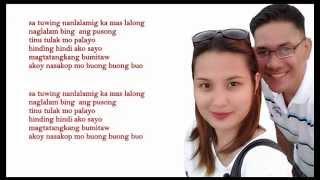 Repeat youtube video TALA  pt.2 Paglalambing - (Lyrics) Kawayan x Lil Ron x Flick One